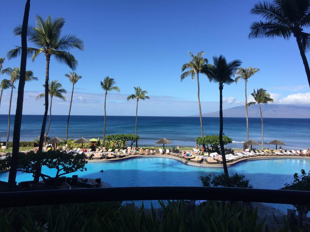 Lahaina Beach in Maui, HI