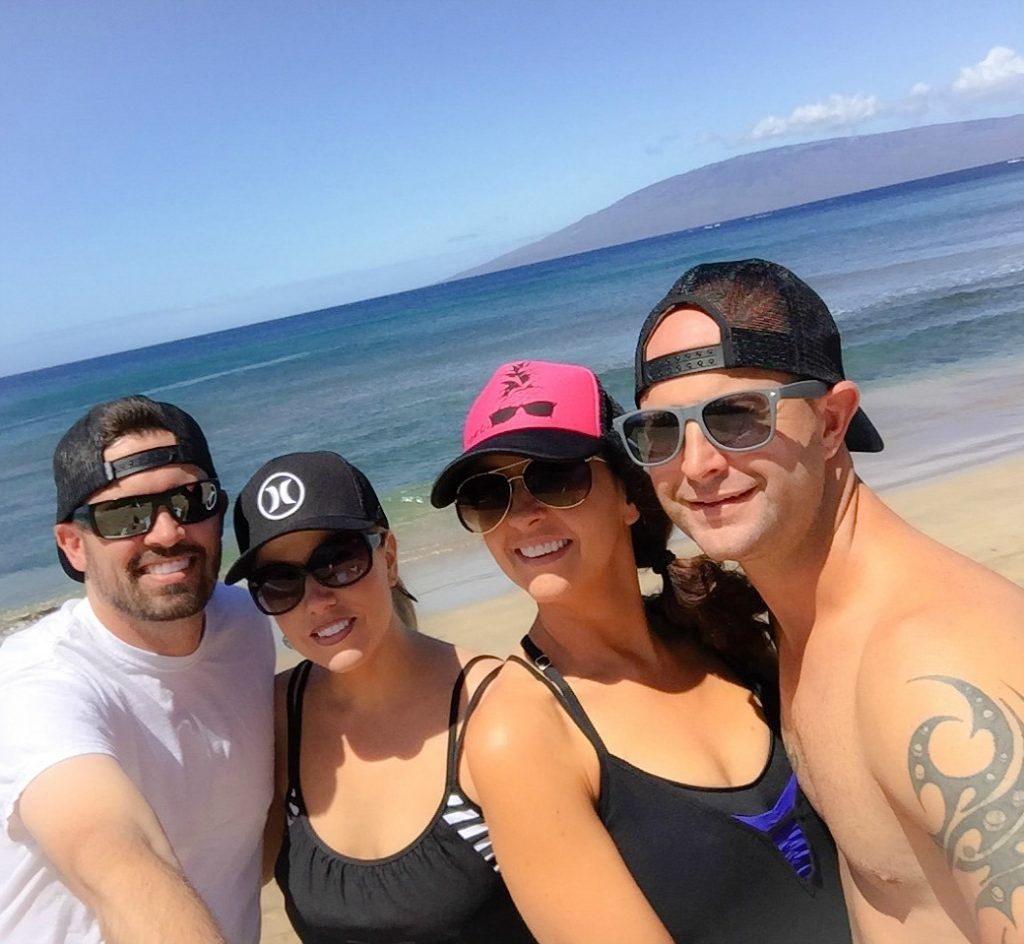 Friends in Maui!