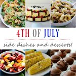 4th of July side dishes and desserts!
