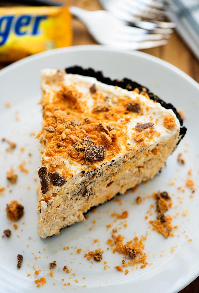 Butterfinger Pie! My favorite!