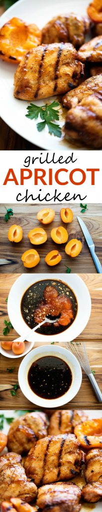 This Apricot Chicken is amazing! Juicy, tender and packed full of flavor!