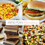 Menu Plan Monday #152