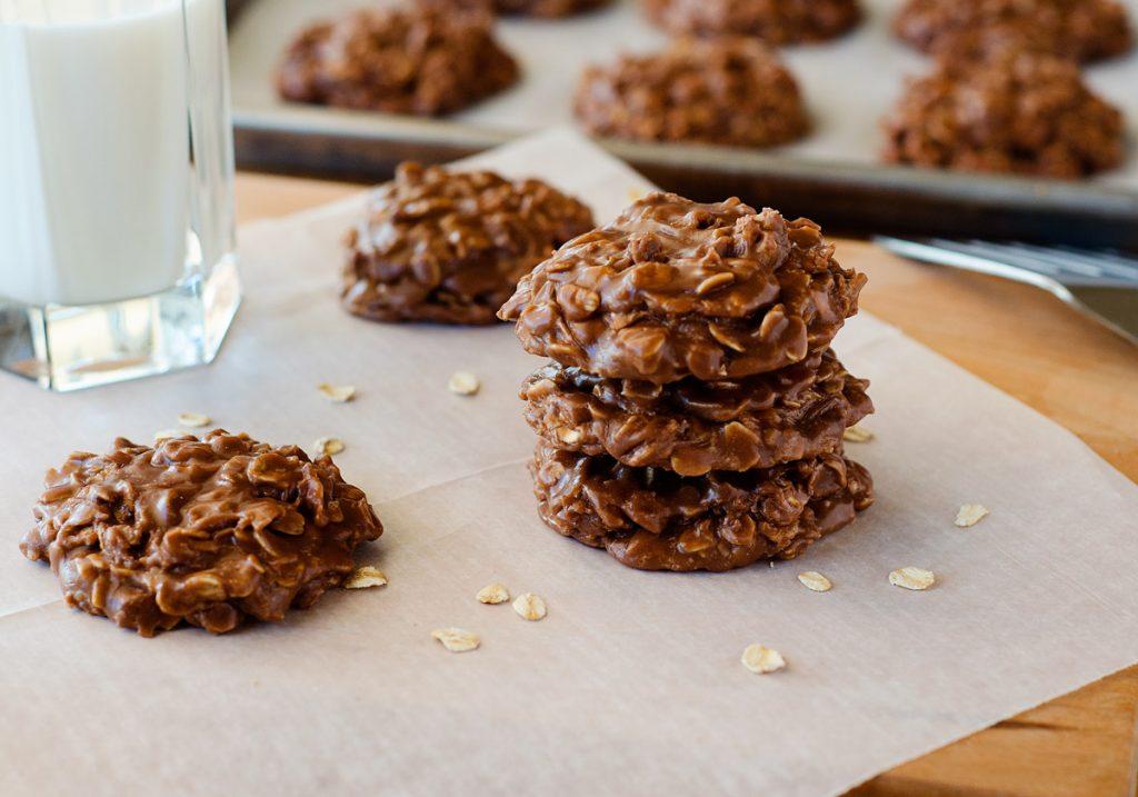 NO-BAKE NUTELLA OATMEAL COOKIES