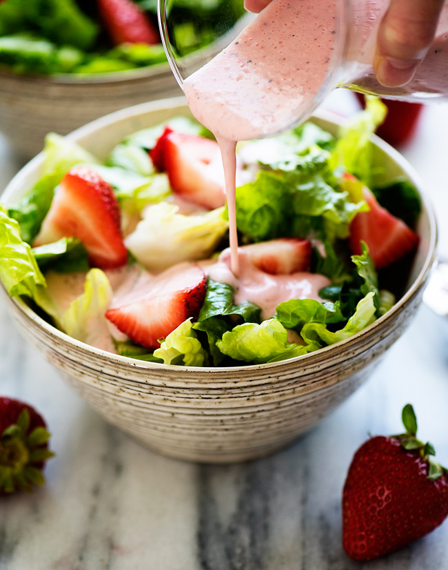 If you like Creamy Poppy Seed dressing you will LOVE this strawberry version!