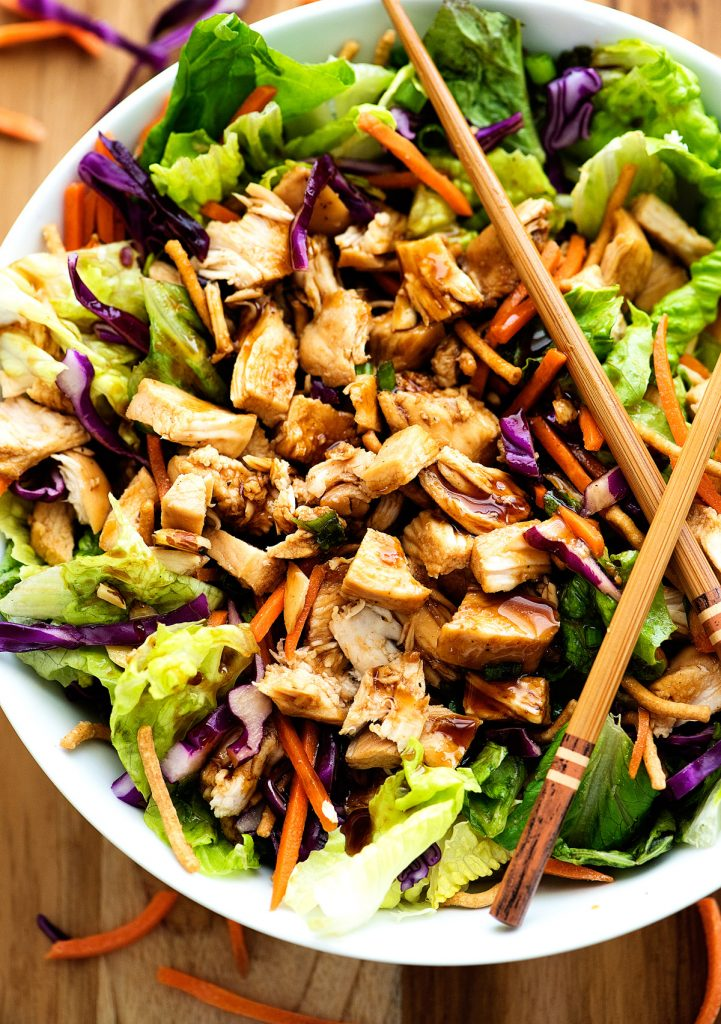 Chinese Chicken Salad - Life In The Lofthouse