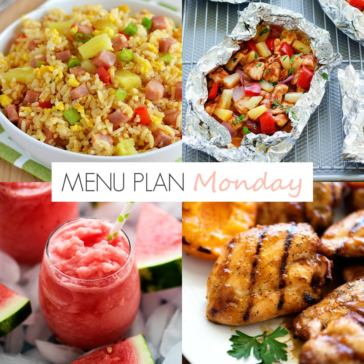 Lots of great family-friendly recipes always on Menu Plan Monday!