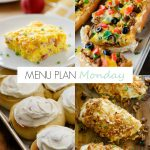 Menu Plan Monday #156