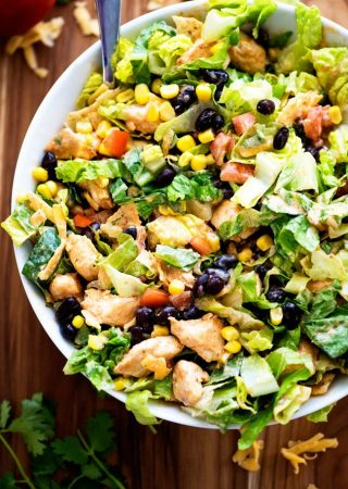 Tex-Mex Chicken Chopped Salad