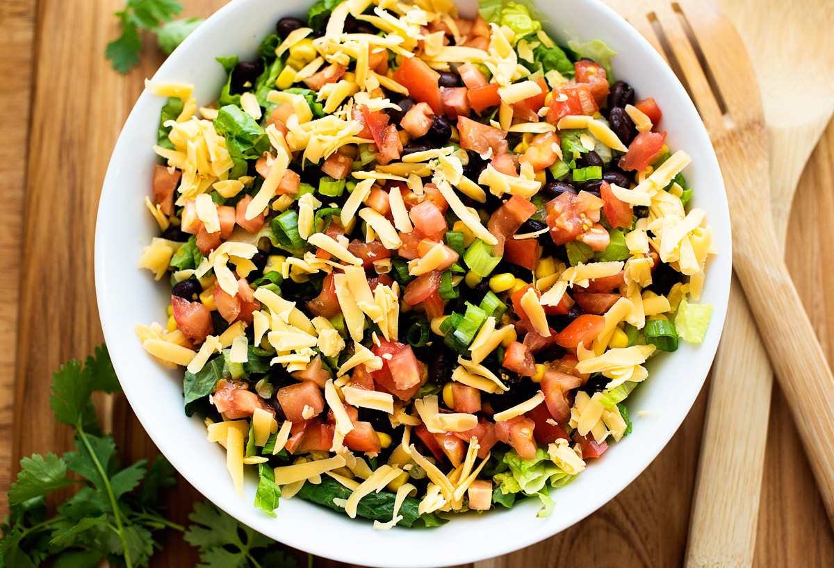 Tex-Mex Chicken Chopped Salads!