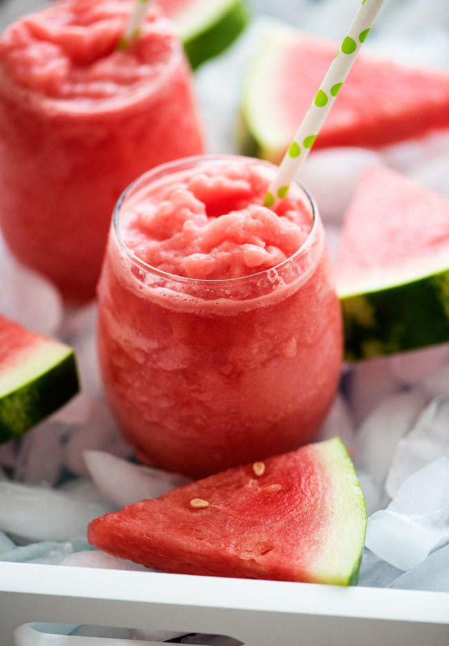 These slushies are so good and only 2 ingredients!