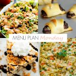 Menu Plan Monday #157