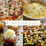 Menu Plan Monday #160