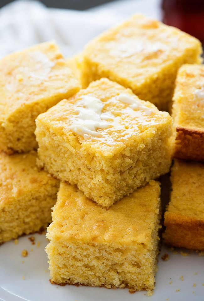 This sweet cornbread is incredible! So moist, sweet and so delicious!