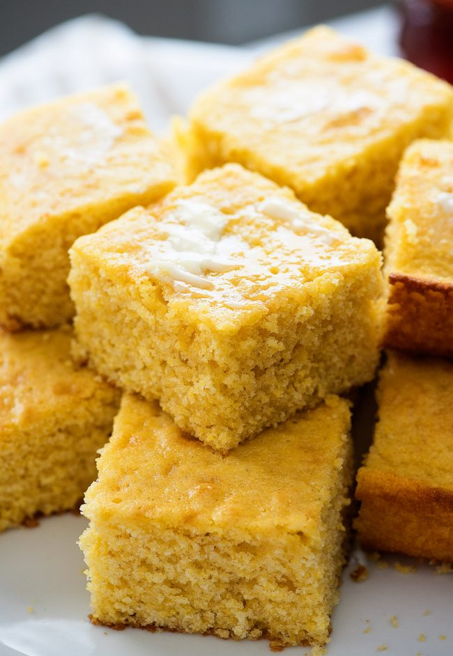 This is the best cornbread you'll ever taste! So sweet and delicious. It almost melts in your mouth!