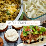 Menu Plan Monday #165