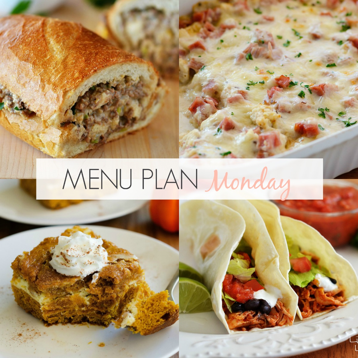 If you're looking for some great dinner ideas check out Menu Plan Monday!