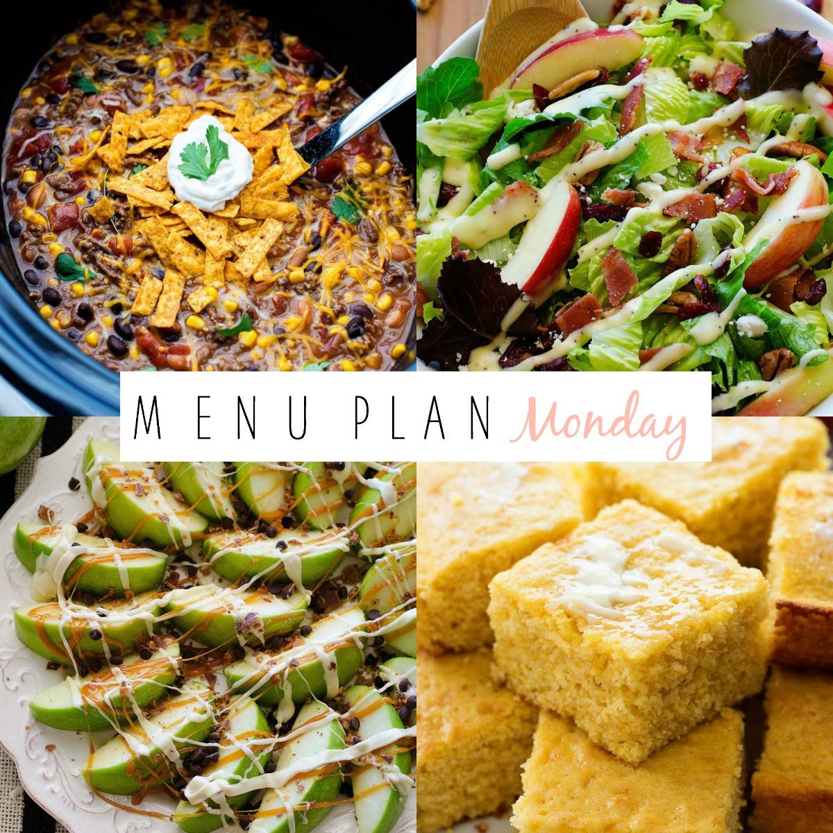 Menu Plan Monday #161