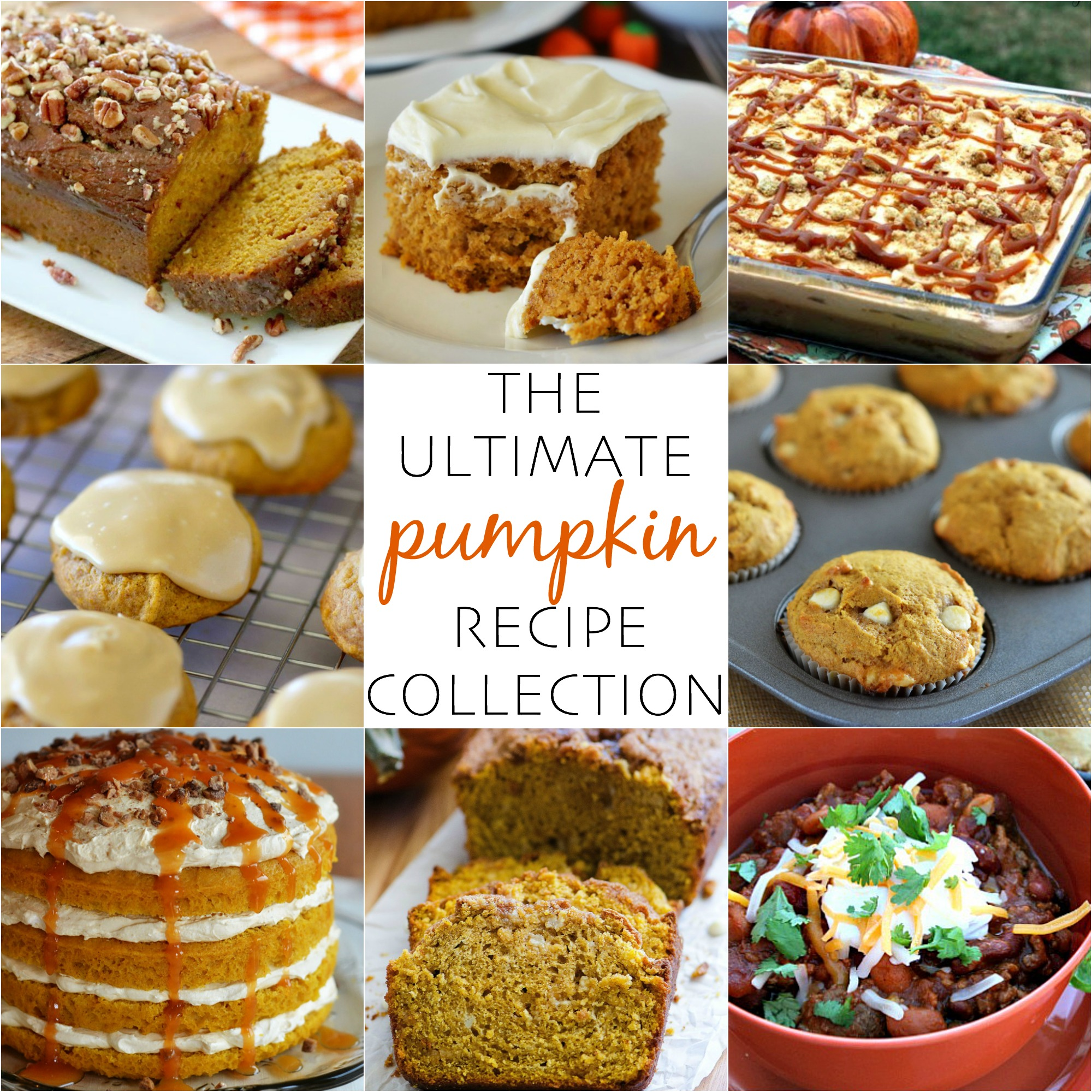 The ultimate pumpkin recipe collection life in the lofthouse a guide to all the pumpkin recipes youll want this fall including savory forumfinder Gallery