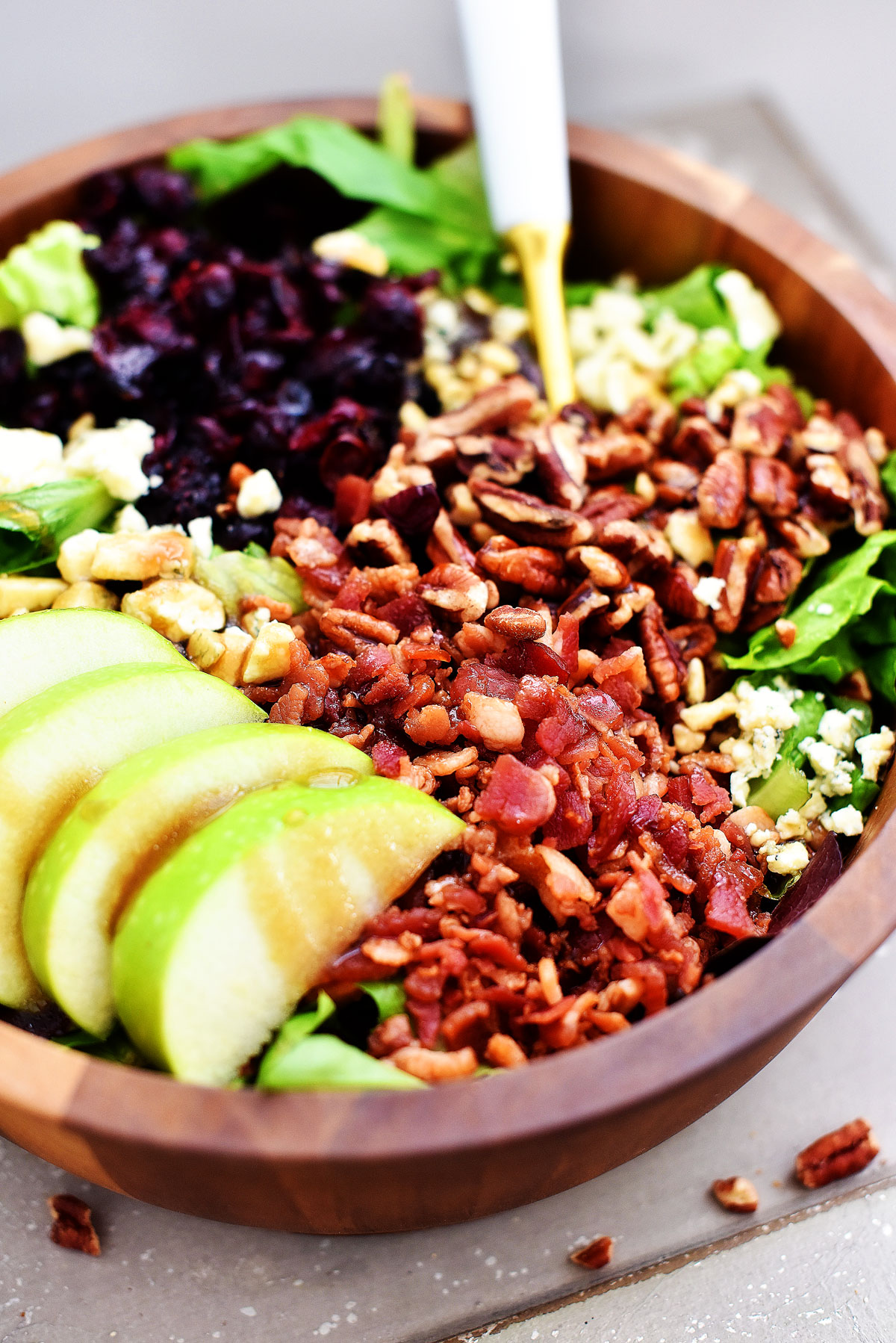 Apple Bacon Salad
