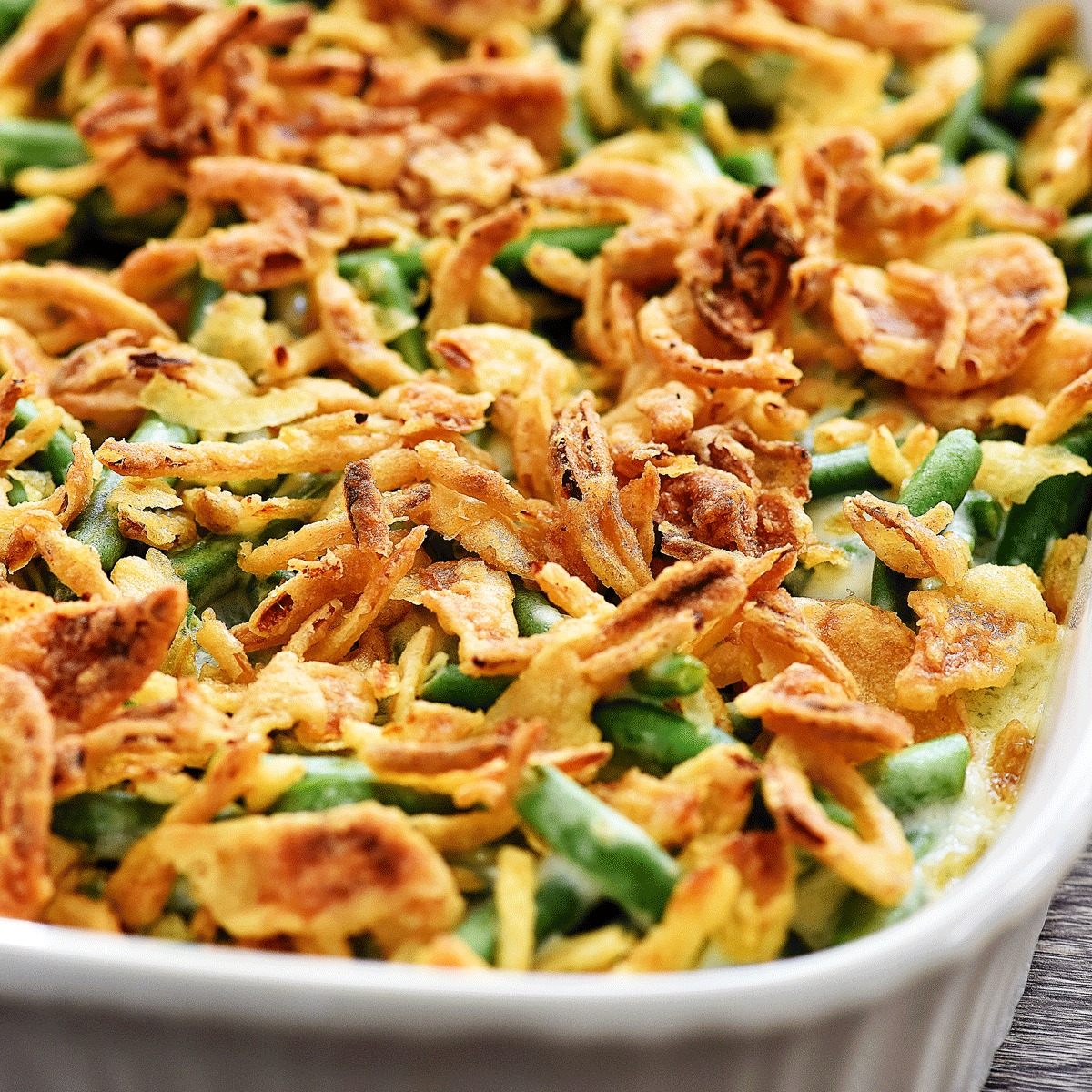 The best green bean casserole life in the lofthouse greenbeancasserole2facebook greenbeancasserolefacebook fresh green beans forumfinder Images