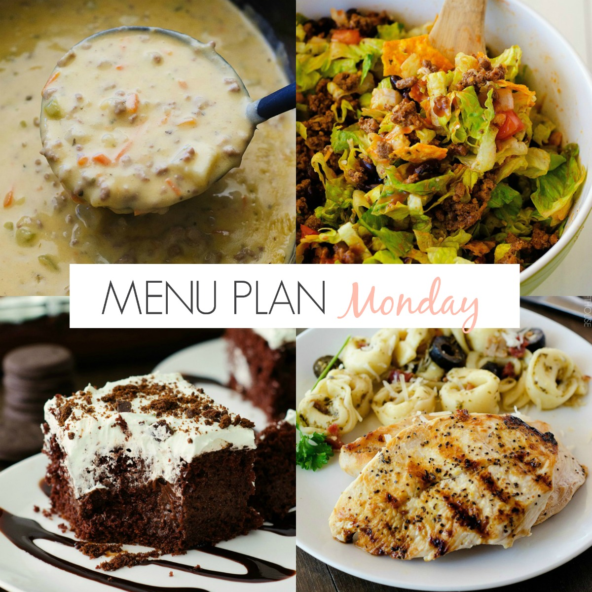 Menu Plan Monday #167