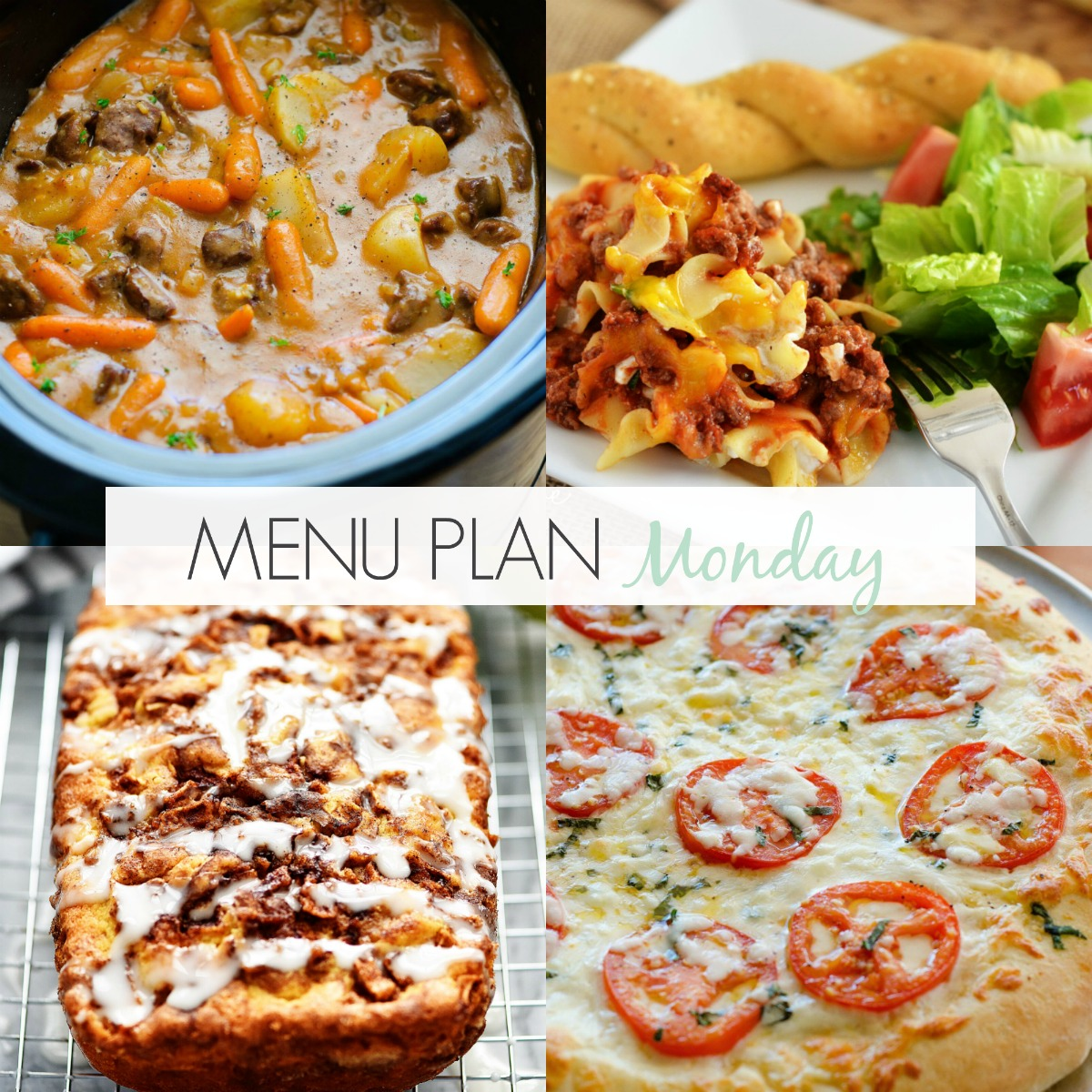 Menu Plan Monday #166 on Life in the Lofthouse.com