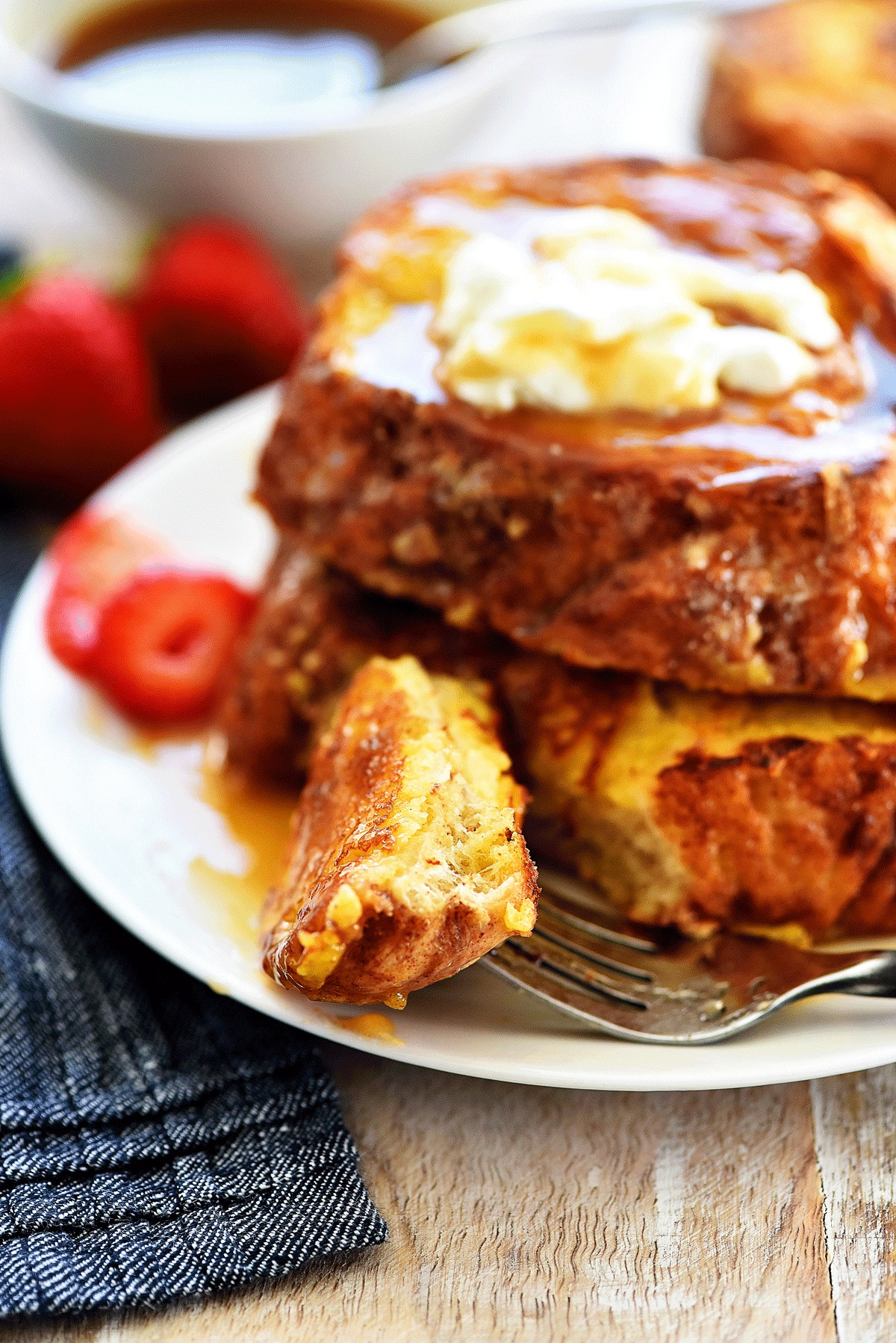 Chunky Cinnamon French Toast