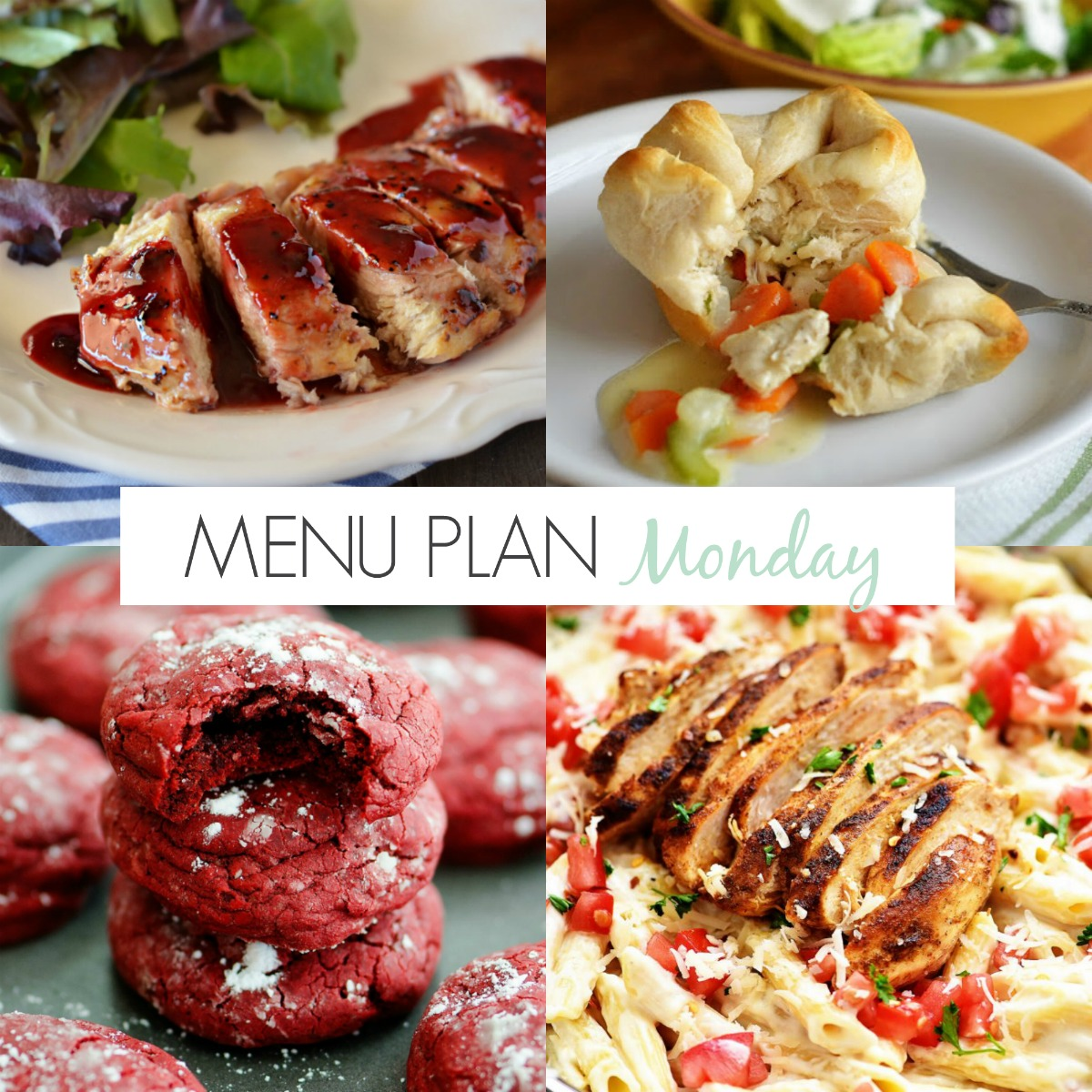 Lots of easy and delicious family-friendly meals on Menu Plan Monday!