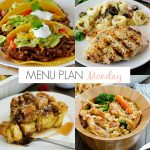 Menu Plan Monday #176