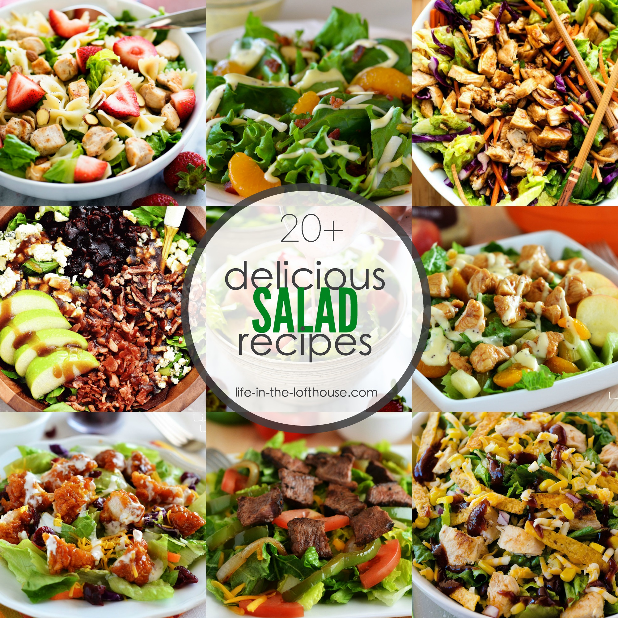 20 Delicious Salad Recipes Life In The Lofthouse
