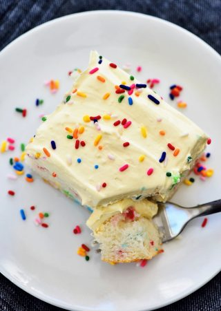 Skinny Funfetti Cake