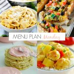 Menu Plan Monday #180