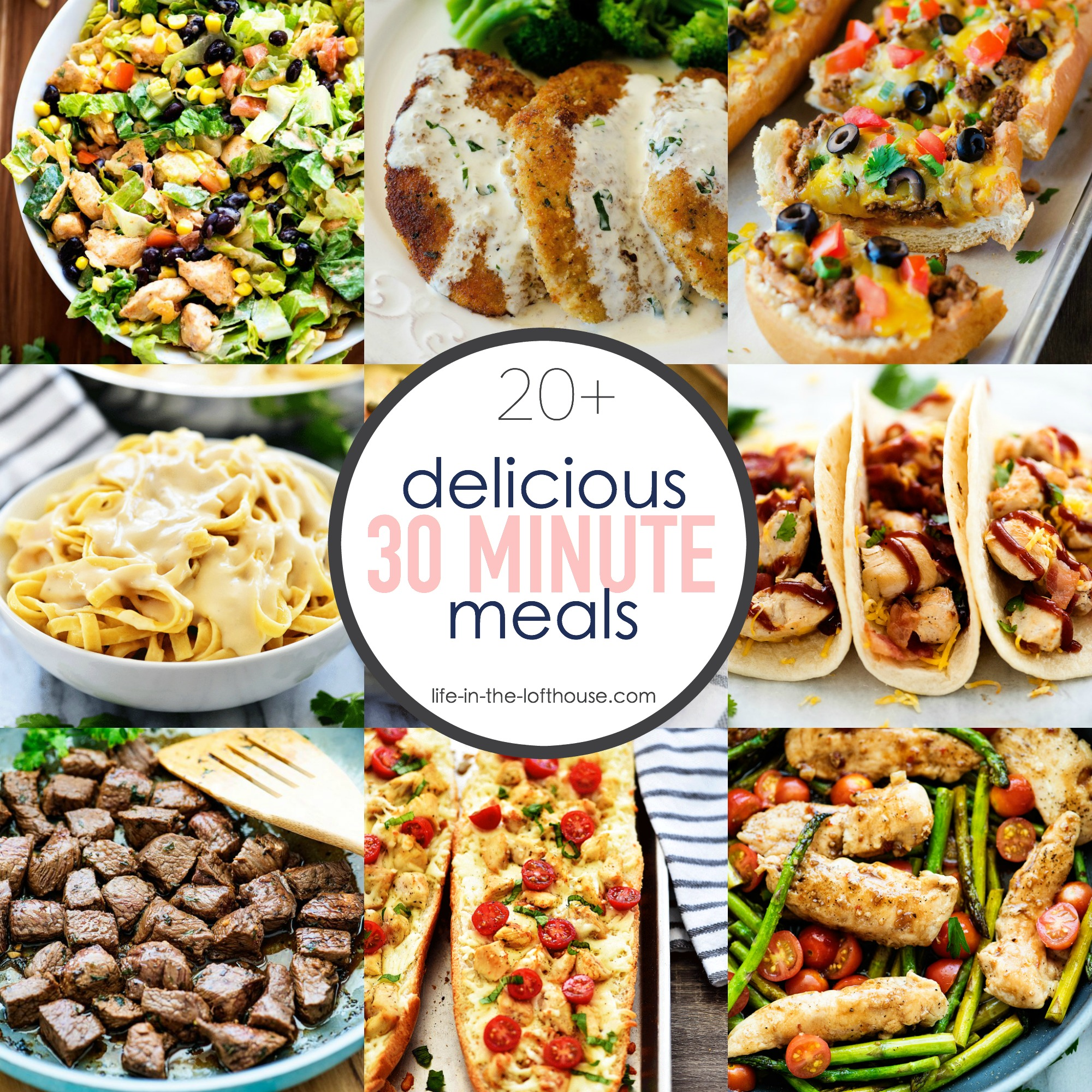 20+ Delicious 30 Minute Meals