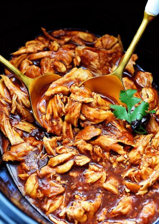 Zesty and flavor packed slow cooked BBQ Chicken!