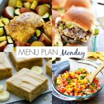 Menu Plan Monday #197