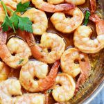 Hawaiian Style Garlic Shrimp