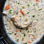 Crock Pot Chicken Wild Rice Soup