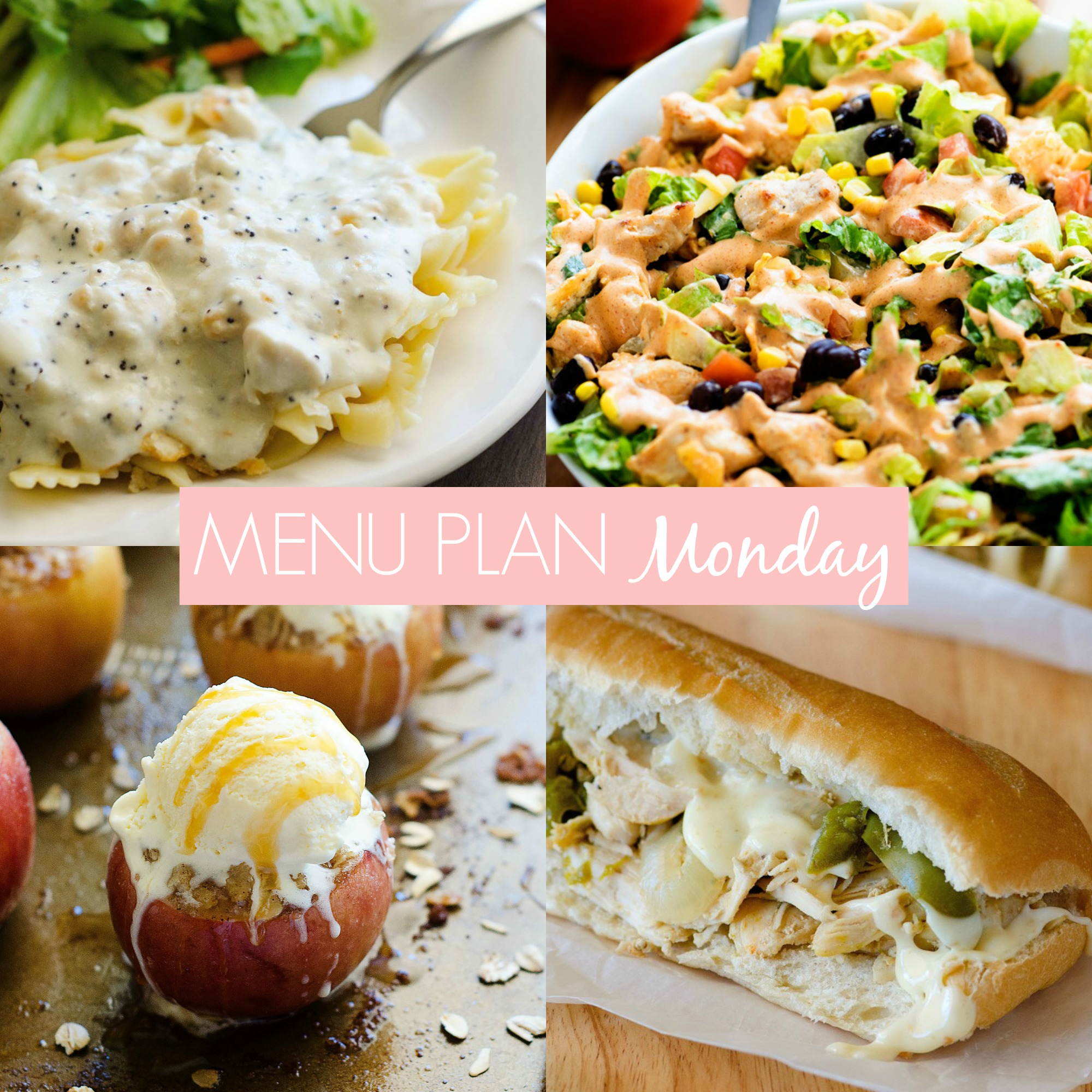 Menu Plan Monday #214