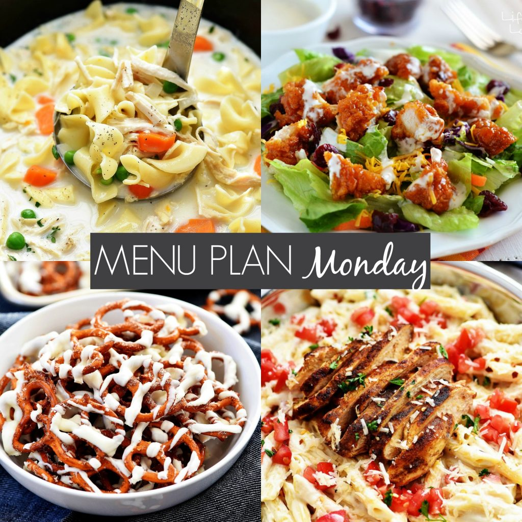Menu Plan Monday #217