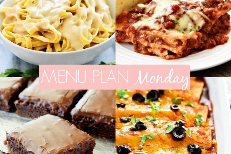 Menu Plan Monday #218
