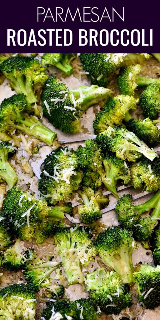 This roasted broccoli is full of garlic and fresh Parmesan cheese flavor. Life-in-the-Lofthouse.com