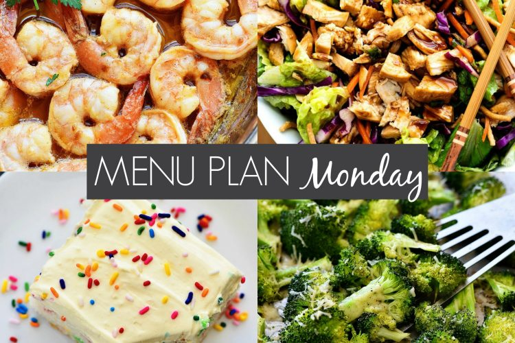 Menu Plan Monday #221