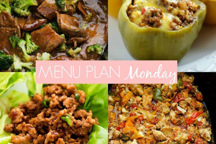 Menu Plan Monday #222