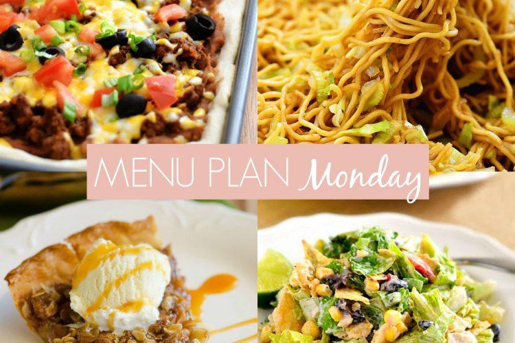 Menu Plan Monday #225