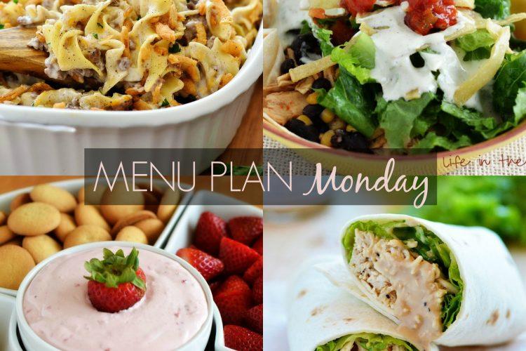 Menu Plan Monday #223