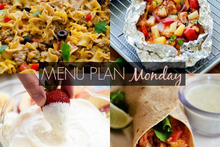 Menu Plan Monday #224