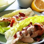 Chicken Bacon Ranch Lettuce Wraps