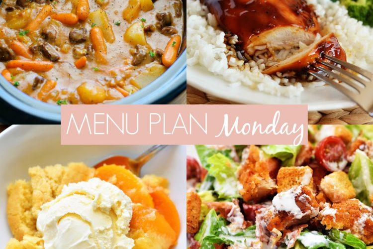 Menu Plan Monday #226