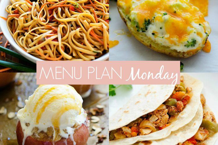 Menu Plan Monday #228