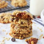Oatmeal Toffee Chocolate Chip Cookies